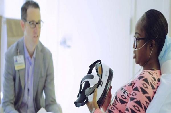 Samsung está usando VR para diminuir dor de pacientes hospitalizados